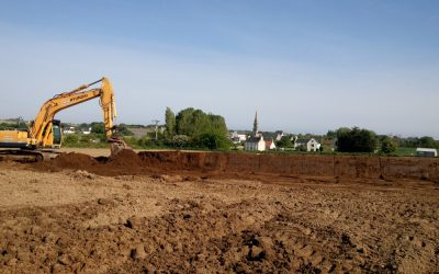 Les travaux Breizh Bocage en cours sur l'Horn Guillec